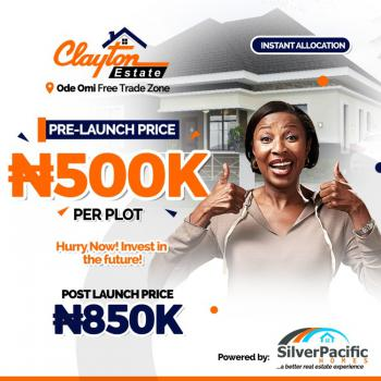The Best Estate in Ibeju Lekki, 100% Dry with Good Development, The Land Is Overlooking The Atlantic Ocean,few Minute From Lagoon, Ibeju Lekki, Lagos, Residential Land for Sale