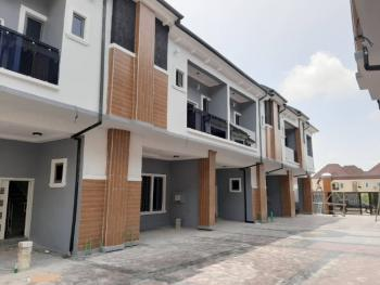 Newly Built 4 Bedroom Ensuite Terrace Houses in a Mini Estate, Chevron Alternative Route, Behind Chevron Head Office, Lafiaji, Lekki, Lagos, Terraced Duplex for Sale