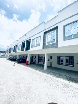 Brand New and Fully Serviced 3 Bedroom Terrace Duplex, Off Orchid Road, Lafiaji, Lekki, Lagos, Terraced Duplex for Rent