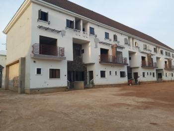 Brand New and Strategically Located 4 Bedroom Terrace House, Off Ahmadu Bello Way, Jahi, Abuja, Terraced Duplex for Sale