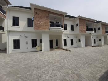 Luxury 4 Bedrooms Terrace Duplex, Chevron Conservation, Lafiaji, Lekki, Lagos, Terraced Duplex for Rent