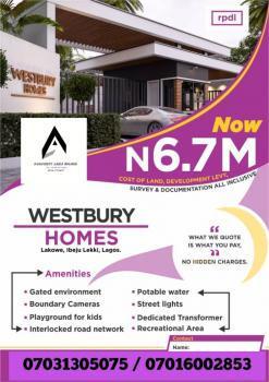 Affordable Estate Lands with C of O, Lakowe, Beechwood Estate, Sangotedo, Ajah, Lagos, Residential Land for Sale