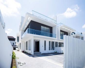 Contemporary 5 Bedroom Semi Detached House, Pinnock Beach Estate, Osapa, Lekki, Lagos, Semi-detached Duplex for Sale