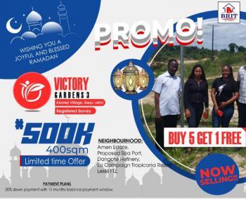 Land on Promo, Buy 5 and Get 1 Free, Aboreji, Eluju, Ibeju Lekki, Lagos, Mixed-use Land for Sale