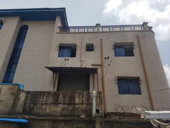 a Two Storey Open Floors Building with a Penthouse, Shomolu, Lagos, House for Sale