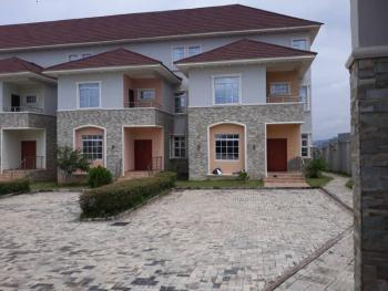 4 Bedroom Terrace House Within a Mini Estate Serviced with Swimming Pool, Patrick Yakowa Street, Katampe Extension, Katampe, Abuja, Terraced Duplex for Rent