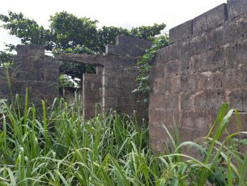 Uncompleted 3 Bedroom Flat with 3 Nos of Mini Flat, Aiyetoro Close to Ayobo Lagos, Ado-odo/ota, Ogun, Detached Bungalow for Sale