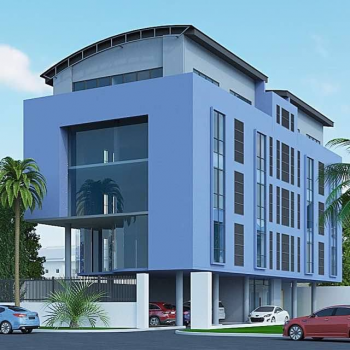 Brand New Open Plan Office Block, Force Road, Onikan, Lagos Island, Lagos, Office Space for Rent