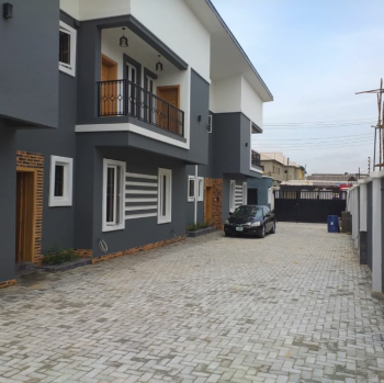 a Luxury 4 Bedroom Apartment with a Bq, Ajao Estate, Isolo, Lagos, Terraced Duplex for Sale