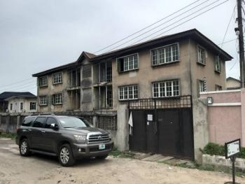 a Block of 6 Units of 3 Bedroom Flats Sitting on 1,200sqm, Obanikoro, Shomolu, Lagos, Block of Flats for Sale