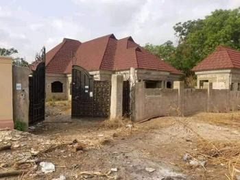 Standard 4 Bedroom Single Family Home, with Good Road Access, Dangote Flower Asadam, Ilorin West, Kwara, Terraced Bungalow for Sale