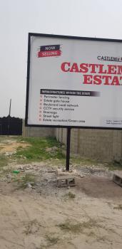 Land, Castlemore Estate, Sangotedo, Ajah, Lagos, Residential Land for Sale
