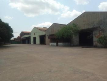 Warehouse Sitting on 40,000 Sqm Comprising 8 Bays, Ogba, Ikeja, Lagos, Warehouse for Sale