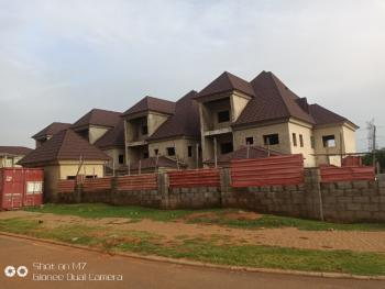 4 Units of Carcass 4 Bedroom Terraced Duplex with Attached Bq, Off Aminu Sale Road, Mamman Kontagora Crescent, Katampe Extension, Diplomatic Zones, Abuja, Terraced Duplex for Sale