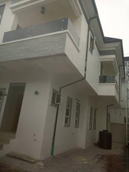 Executive Luxury Newly Built 4 Bedroom with Room Bq, Chevron Alternative, Lekki Phase 2, Lekki, Lagos, Detached Duplex for Sale