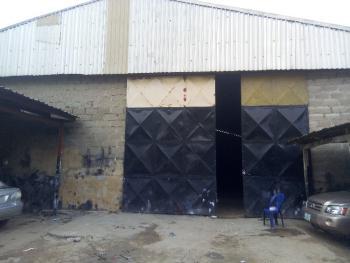 400sqmt Perfect 1 Bay Warehouse, Ejigbo Lcda, Oke Afa, Isolo, Lagos, Warehouse for Rent