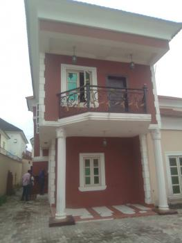 4 Bedroom Duplex and a Bq with Green Area for Kids, By Chevron, Idado, Lekki, Lagos, Semi-detached Duplex for Rent