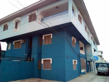 Spacious Wing of Duplex & 4 Units of Flats with Prepaid Meters per Unit, No. 10, Gbadebo Osiade Street, Ago Palace, Isolo, Lagos, Semi-detached Duplex for Sale