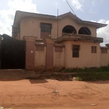 Solid Block of 4 Flats of 3 Bedroom Each on a Plot of Land, Adexson Bus Stop Isheri Lasu Road, Akesan, Alimosho, Lagos, Block of Flats for Sale