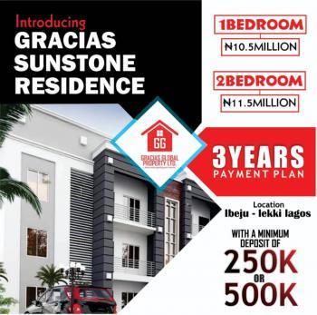 2 Bedroom Bungalow, Origangan, Ibeju Lekki, Lagos, Block of Flats for Sale