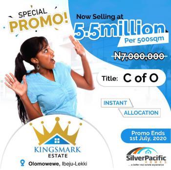 Land, Kingsmark Highly Luxurious Estate, Ibeju Lekki, Lagos, Mixed-use Land for Sale