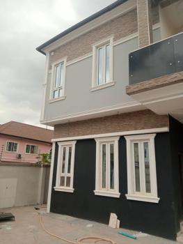 Newly Built 4 Bedroom Duplex, Off Ike Street, Omole Phase 2, Ikeja, Lagos, Semi-detached Duplex for Sale