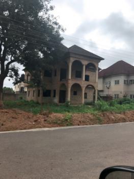 4 Bedroom Carcass Duplex with Bq Space, Basic Estate, Lokogoma District, Abuja, Detached Duplex for Sale