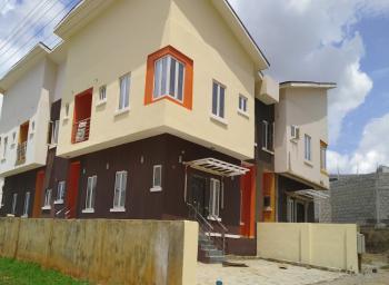 Four Bedroom Semi-detached Duplex, Paradise Estate, Jabi, Abuja, House for Rent