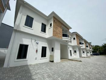 Brand New Serviced 4 Bedroom Terraced House, Lekki Conservation Centre Road, Lafiaji, Lekki, Lagos, Terraced Duplex for Rent