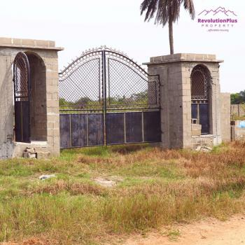 Modern and Dry Estate Land, Close to Dangote Refinery, Akodo Ise, Ibeju Lekki, Lagos, Mixed-use Land for Sale