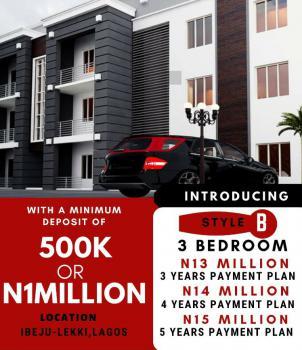 3 Bedroom Flat, Sunstone Estate, Folu Ise, Ibeju Lekki, Lagos, Block of Flats for Sale
