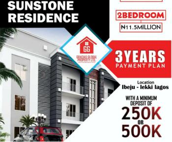 2 Bedroom Flat, Sunstone Estate, Folu Ise, Ibeju Lekki, Lagos, House for Sale