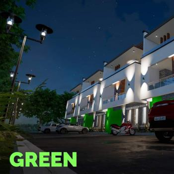 4 Bedrooms Luxury Terraced Duplex + Bq (still Under Construction), Beside Human Rights Radio Station, Games Village, Kaura, Abuja, Terraced Duplex for Sale