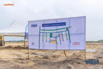 Serviced Plots of Land, Off Abraham Adesanya Estate, Ogombo, Ajah, Lagos, Residential Land for Sale