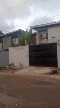 a Well Maintained 2 Wings of 5 Bedroom Duplex with 2 Room Bq., Off Eric Moore Road, Eric Moore, Surulere, Lagos, Semi-detached Duplex for Sale