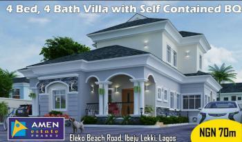 4 Bedroom Detached Duplex, Eleko, Eleko, Ibeju Lekki, Lagos, Detached Duplex for Sale