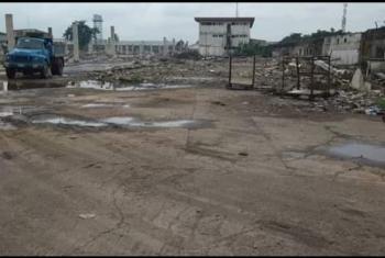 a Corner Piece Bareland, Oba Akran Avenue, Oba Akran, Ikeja, Lagos, Commercial Land for Sale