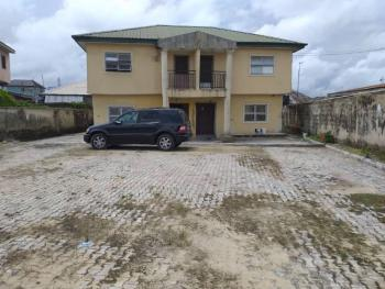 Investment Property of Twin Duplex with Big Compound on a Full Plot, Sangotedo, Ajah, Lagos, Semi-detached Duplex for Sale