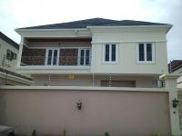 Tastefully Finished and Newly Built 5 Bedroom Duplex + 1 Room Domestic Staff Quarters with Kitchen Fittings, Agungi, Lekki, Lagos, Semi-detached Duplex for Sale