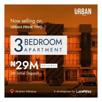 3 Bedroom Apartment, Abraham Adesanya Estate, Lekki Phase 2, Lekki, Lagos, Terraced Bungalow for Sale