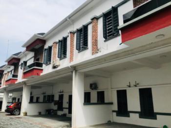 Spacious & Exquisite 4 Bedrooms Luxury Terraced Duplex with 24 Hours Light, Lekki Conservation By Chevron Tollgate, Lekki, Lagos, Terraced Duplex for Rent