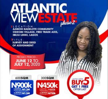Atlantic View Phase 2 Estate (land Facing The Ocean Front), Ajimoh Kadeloye Community, Ode-omi Village, Folu Ise, Ibeju Lekki, Lagos, Mixed-use Land for Sale