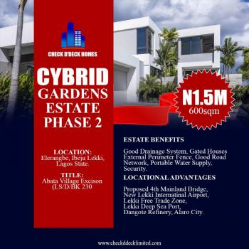 Buy 5 Plots and Get 1 Plot Free, Abata, Tagbati Town, Cybrid Gardens Estate, Eleranigbe, Ibeju Lekki, Lagos, Residential Land for Sale