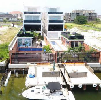 Luxury 7 Bedroom House Waterfront with Jetty, Banana Island, Ikoyi, Lagos, Detached Duplex for Sale