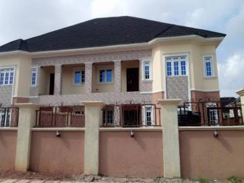 4 Bedroom Semi Detached House with Bq, Close to Naf Quarters, Life Camp, Gwarinpa, Abuja, Semi-detached Duplex for Rent
