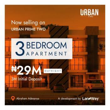 Luxury 3 Bedroom Apartment, Abraham Adesanya Urban Prime Estate, Ibeju Lekki, Lagos, Block of Flats for Sale