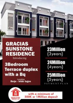 Gracias Sunstone Residence, 20 Mins Drive From Dangote Refinery, Ibeju Lekki, Lagos, Terraced Duplex for Sale