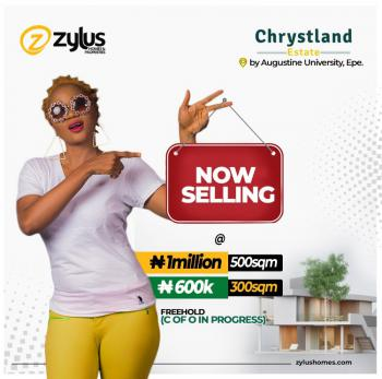 Uniquely Situated Land, Chrystland Estate By Augustine University., Epe, Lagos, Mixed-use Land for Sale