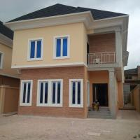 5 Bedroom Detached Duplex(all Ensuite) With Jacuzzi, Cctv, Intercom, Fitted Kitchen, Family Lounge, Ante Room And 2 Rooms Boys Quarters Sitting On 480 Square Metre, Omole Phase 1, Ikeja, Lagos, 5 Bedroom Detached Duplex For Sale