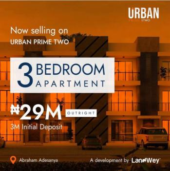 Luxury and Classy 3 Bedroom Apartment with Flexible Payment System, Ogombo Road, Off Abraham Adesanya, Lekki, Lagos, Flat for Sale